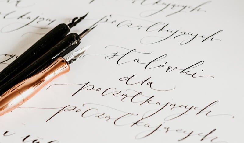 stalówki dokaligrafii dla początkujących