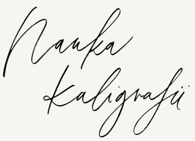 Nauka kaligrafii nowoczesnej