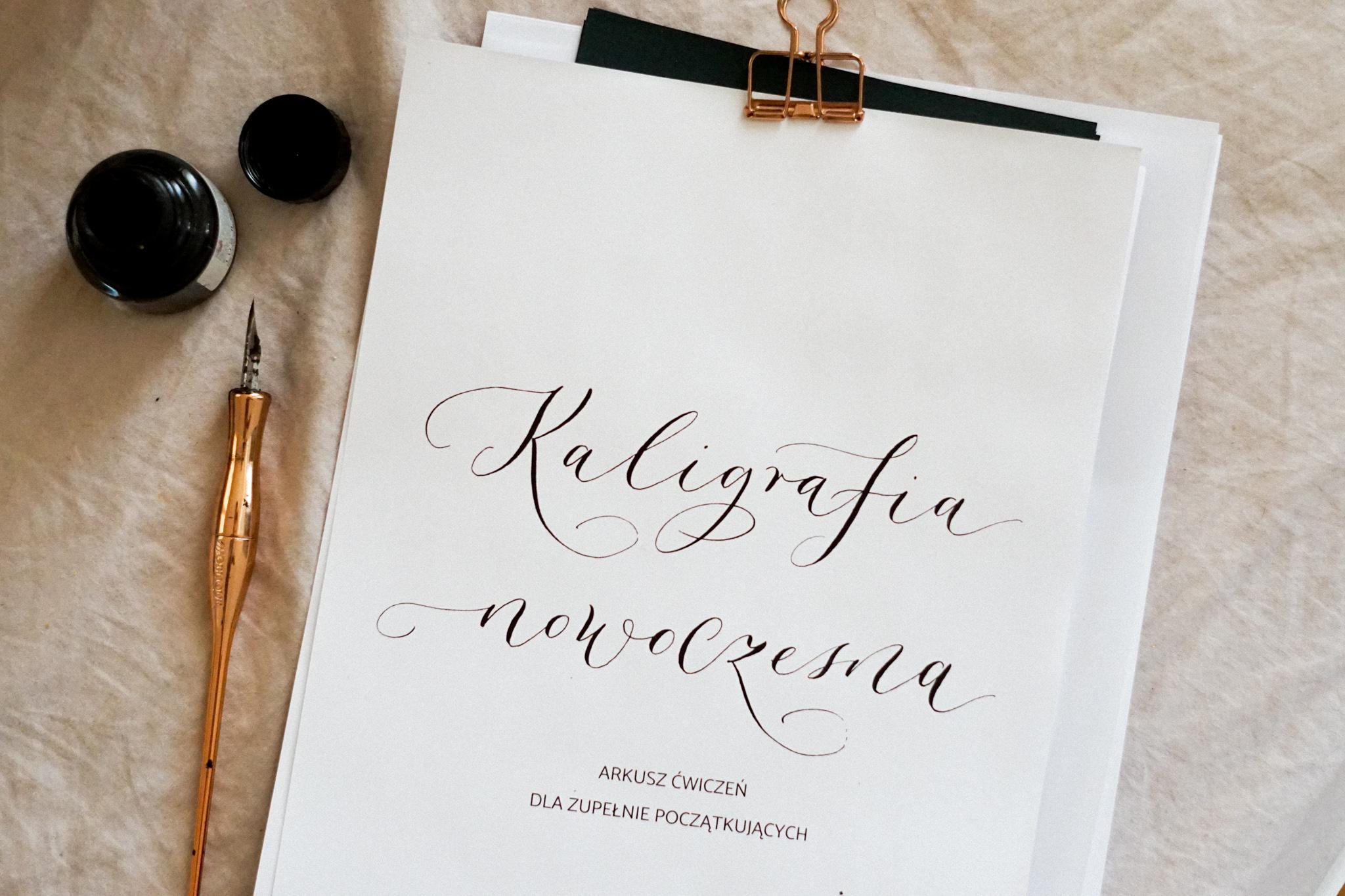 kaligrafia dla początkujących