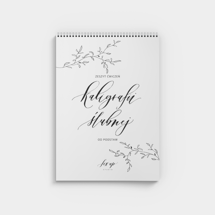 Zeszyt kaligrafii ślubnej